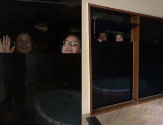 Fãs tentam invadir o banheiro de Maiara da dupla Maiara e Maraísa