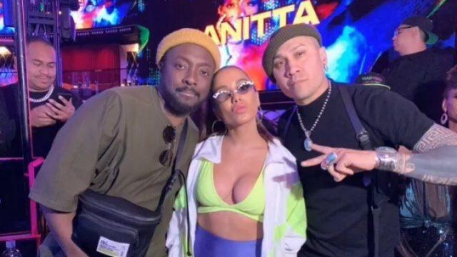 Will.i.am e Anitta