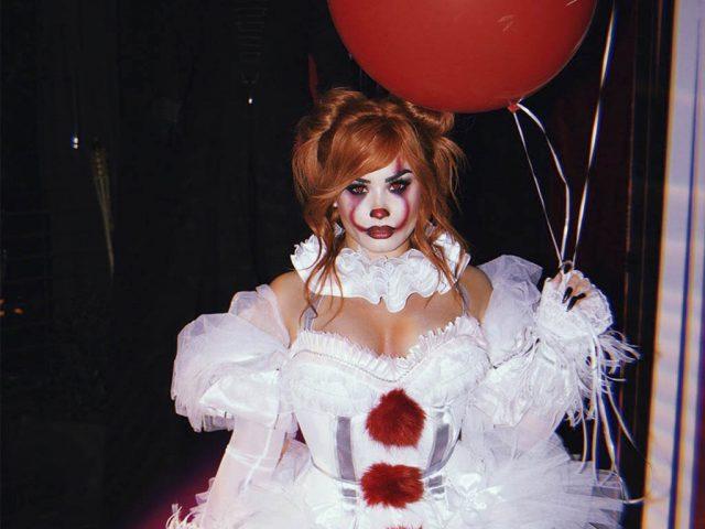 Fantasia de Halloween dos Famosos