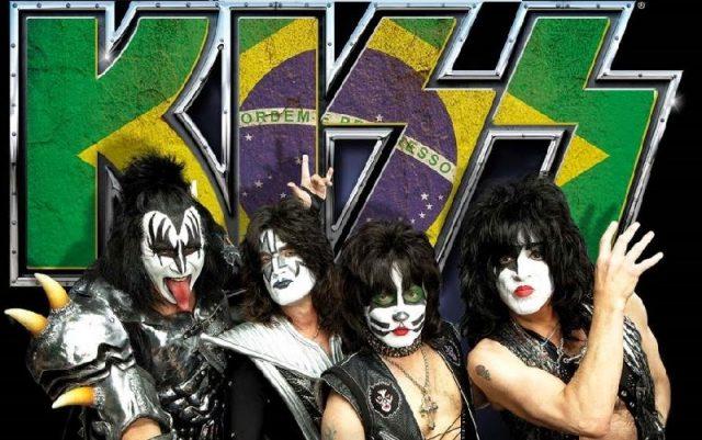 Kiss no Brasil