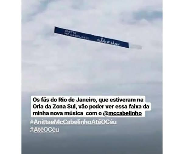 """Anitta divulga nova música """"Até o Céu"""""""