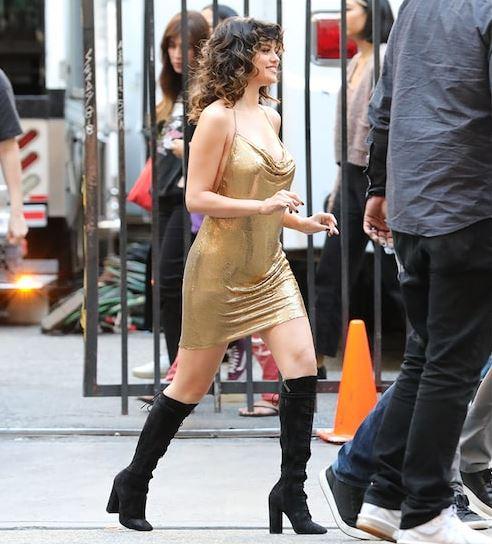 Selena Gomez muda visual