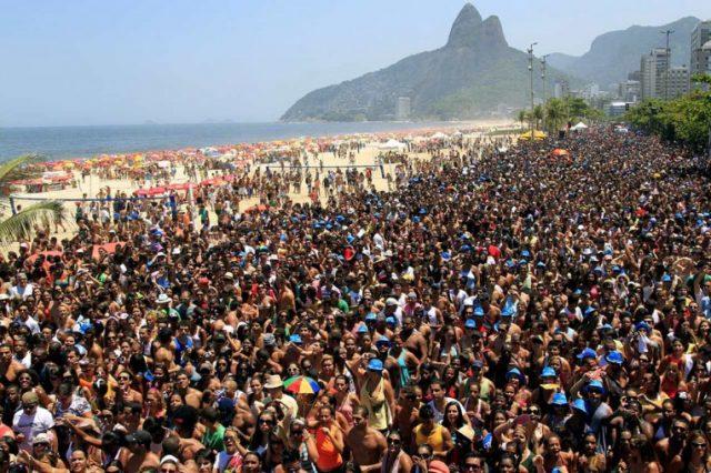 Festas de carnaval em 2020