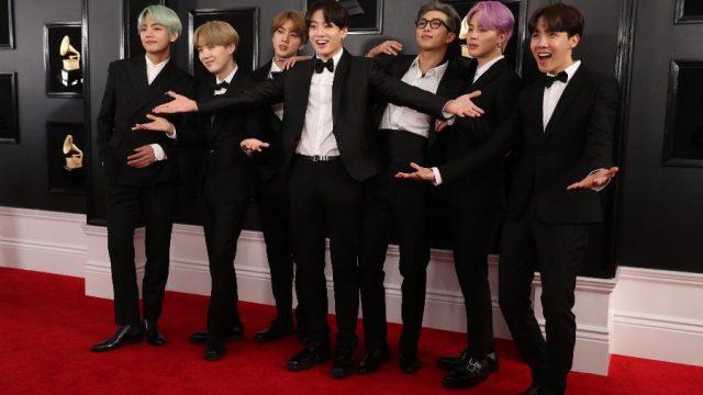 BTS no Grammy 2020