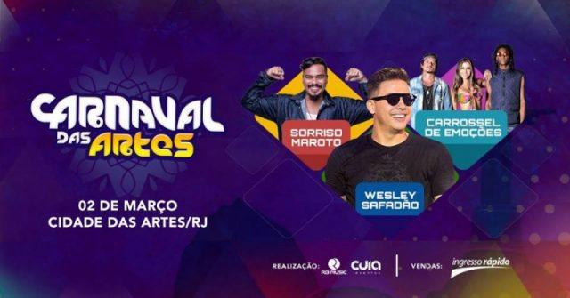 Carnaval das Artes 2020 atrações