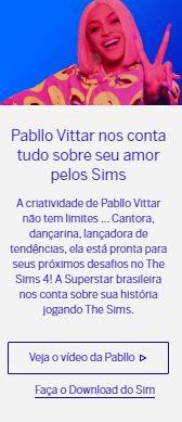 Como jogar com a Pabllo Vittar no The Sims 4