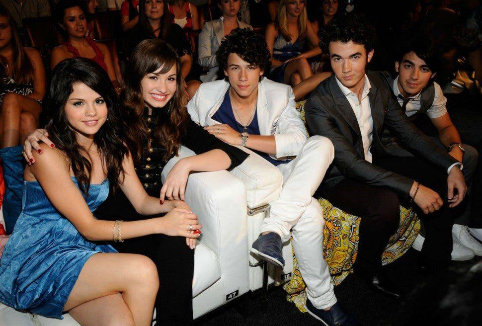 Demi Lovato, Selena Gomez e Jonas Brothers Foto: K Mazur / TCA 2008 / WireImage