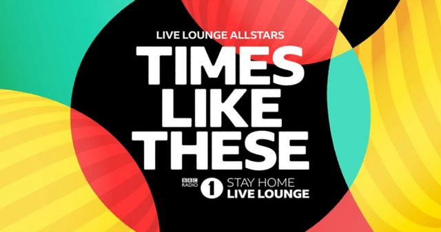 Times Like These, Live Lounge Allstars