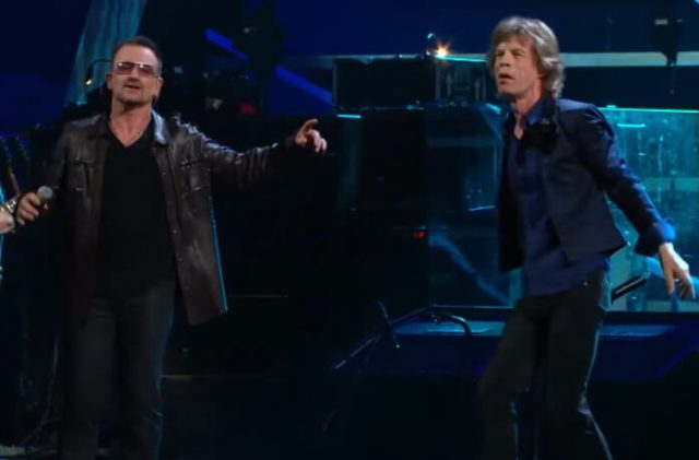 U2 no Hall da Fama do Rock and Roll