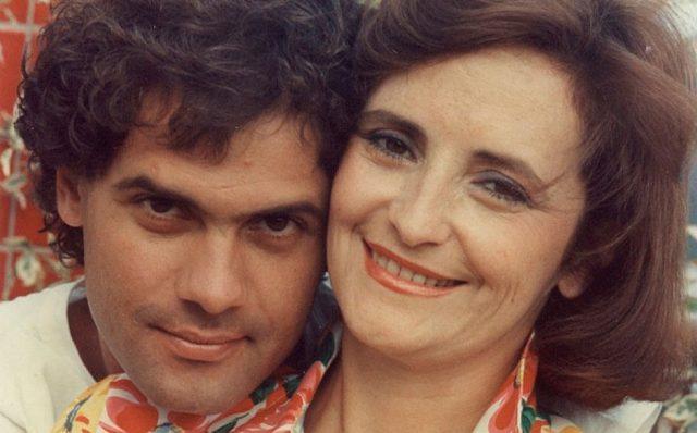 Cazuza e Lucinha (Foto: Sociedade Viva Cazuza)