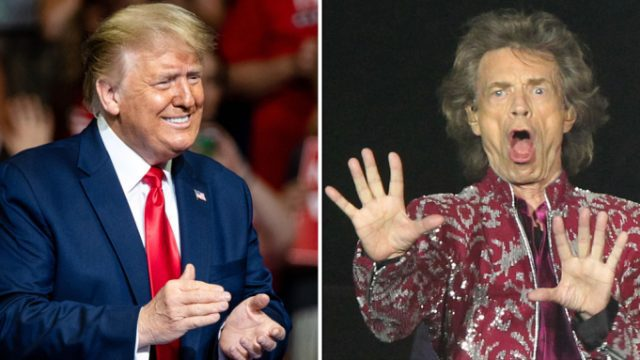 Rolling Stones x Donald Trump