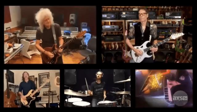"""""""Bohemian Rhapsody"""", Generation Axe + Brian May"""