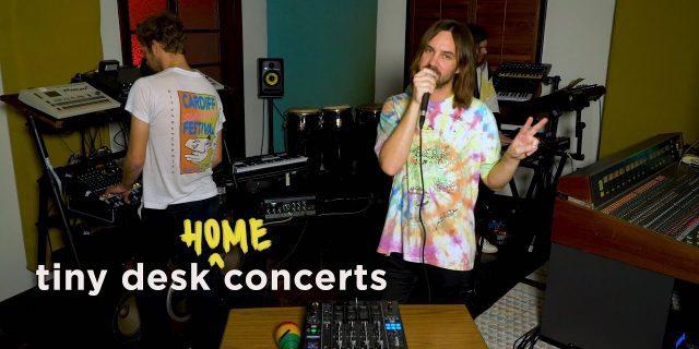 """""""Tiny Desk (Home) Concert"""", Tame Impala"""