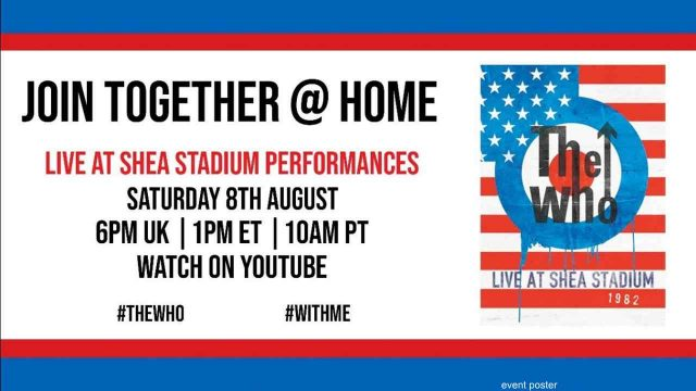 """""""Join Together @ Home"""", The Who"""