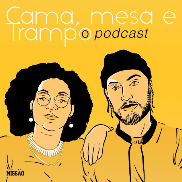Rashid e Daniela Rodrigues podcast