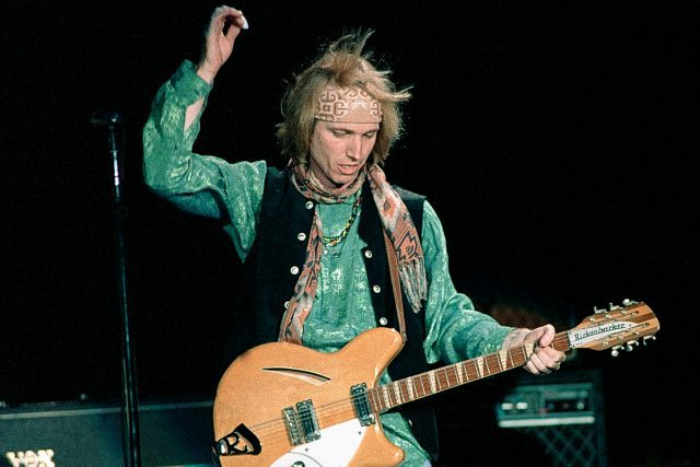 Atlanta - April 15: Singer/Songwriter Tom Petty of Tom Petty and The Heartbreakers perform at Lakewood Amphitheater in Atlanta Georgia April 15, 1995 (Photo By Rick Diamond/Getty Images)