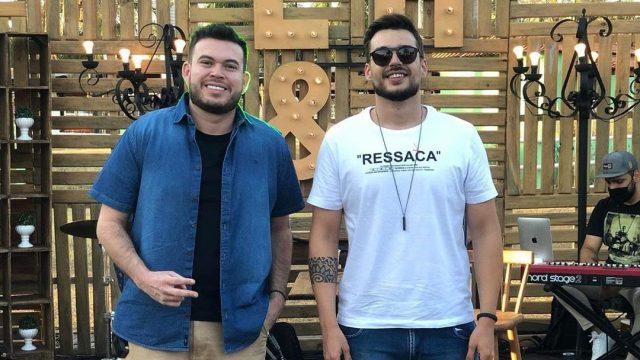 Luiz Henrique e Leo foram para Campo Grande (Foto: Divulgação, Assssoria)