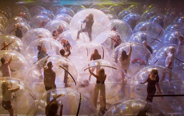 The Flaming Lips' 'Assassins Of Youth' video. Credit: Press.