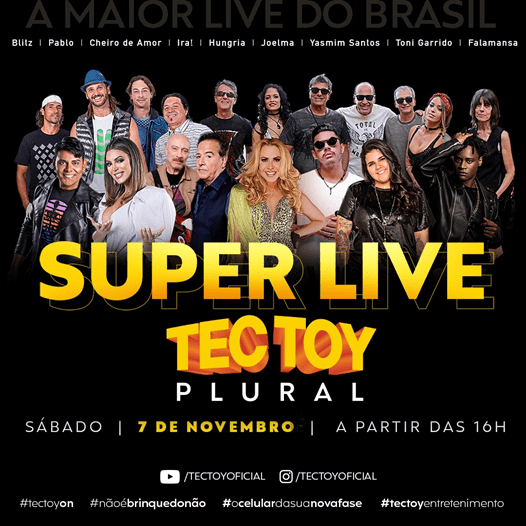 Super Live TecToy Plural