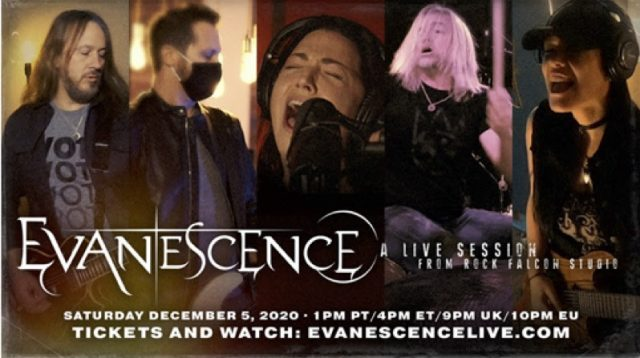 Evanescence: A Live Session From Rock Falcon Studio