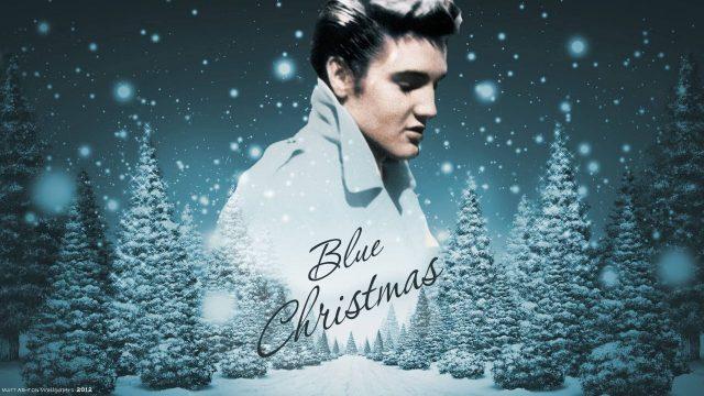"""Blue Christmas"", Elvis Presley"