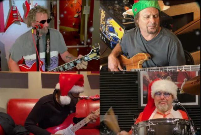 """""""Santa's Going South"""", Sammy Haggar & The Circle"""