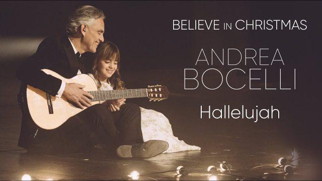 """Hallelujah"", Andrea Bocelli e Virginia"
