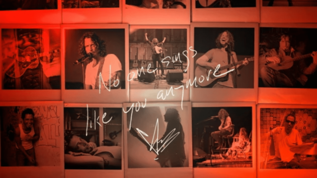 """No One Sings Like You Anymore"", Chris Cornell"