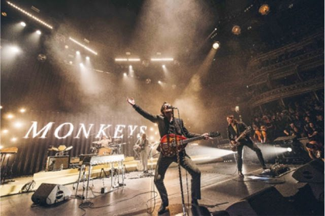 Artic Monkeys Photo credit: Aaron Parsons