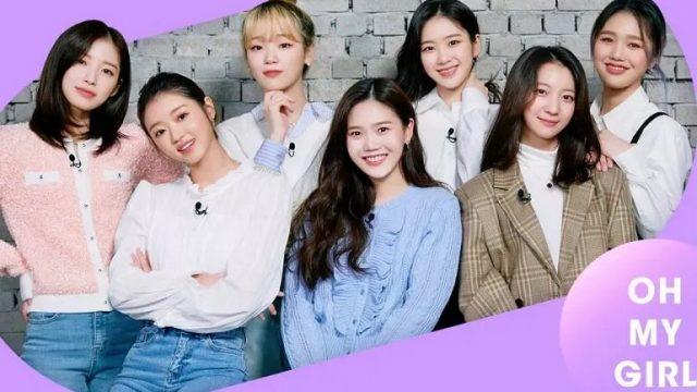 membros do Oh My Girl