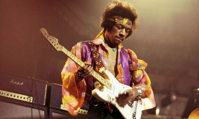 """""""All Along The Watchtower"""", Jimi Hendrix"""