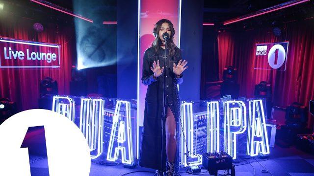 "Dua Lipa ""in the Live Lounge"""